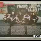 Pianos Become The Teeth 1 Page Article/Clipping