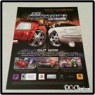 Midnight Club 3 Dub Edition Video Game Ad/Clipping