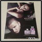 Beckham Sigature Unscented Cologne & Perfume Ad