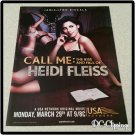 Call Me: The Rise and Fall Of Heidi Fleiss Ad/Clipping