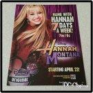 Hannah Montana Ad/Clipping Miley Cyrus