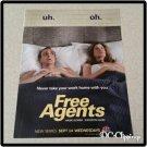 Free Agents Ad/Clipping Hank Azaria, Kathryn Hahn