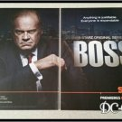2 Page The Boss Ad/Clipping Kelsey Grammer