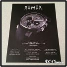 XEMEX Swiss Watch Ad