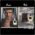 David Beckham INSTINCT Cologne Ad with Scent Strip