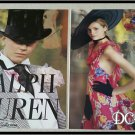 Ralph Lauren 2 Page Ad