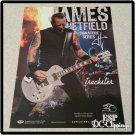 James Hetfield ESP Guitars Ad Metallica