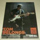 Tom DeLonge Ernie Ball Ad