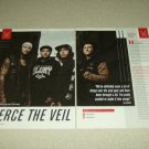 Pierce The Veil 2 Page Article/Clipping