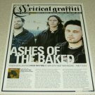 HIgh On Fire 1 Page Article/Clipping #2
