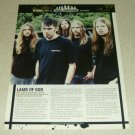 Lamb Of God 1 PAge Article/Clipping