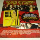 Kill Bill DVD/Movie Ad - Uma Therman