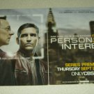 Person Of Interest 2 Page TV Show Ad