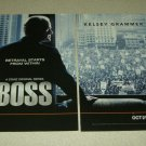 BOSS 2 Page TV Show Ad - Kelsey Grammer