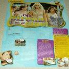 Aquamarine 1 Page Article/Clipping (In Spanish) - Sara Paxton - JoJo - Emma Roberts