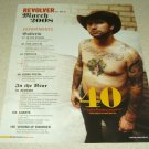 Keith Buckley 1 Page Clipping Everytime I Die