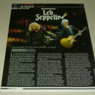 Led Zepplin 1 Page Article/Clipping