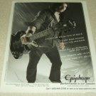 Tony Iommi Epiphone Signature Guitar Ad