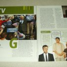 Game Change 2 Page Article/Clipping - Julianne Moore, Woody Harrelson, Ed Harris
