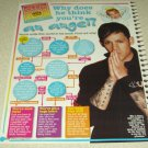 Joel Madden 1 Page Article/Clipping #2 - Good Charlotte