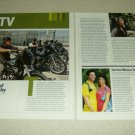 Sons Of Anarchy 1 & 1/2 Page Article/Clipping
