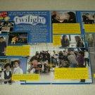 Twilight 2 Page Article/Clipping - Robert Pattinson - Kristen Stewart