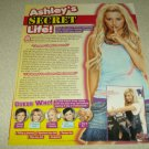 Ashley Tisdale 1 page Article/Clipping - High School Musical