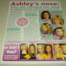 Ashley Tisdale 1 page Article/Clipping #2 - High School Musical