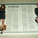 X Factor 2 Page Article/Clipping - Paula Abdul