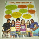 Zoe 101 1 Page Article/Clipping - Jamie Lynn Spears