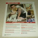 Matt Traynor & Nugget 1 Page Article/Clipping - Bless The Fall