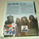 Jule Vera 1 Page Article/Clipping