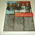 Knocked Loose 1 Page Article/Clipping