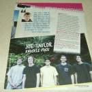 Knuckle Puck 1 Page Article/Clipping