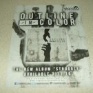 Outline In Color - Struggle Album Ad