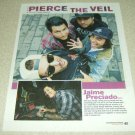 Pierce The Veil 1 Page Article/Clipping