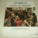 The Summer Set - Stories For Monday Album Ad