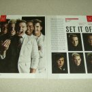 Set It Off 2 Page Article/Clipping
