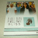 A Will Away - Bliss Album Ad