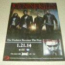 Ice Nine Kills - The Predator Becomes The Prey Album Ad