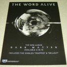 The Word Alive - Dark Matter Album Ad