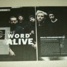 The Word Alive 2 Page Article/Clipping #2