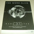 The Word Alive - Dark Matter Album Ad #2