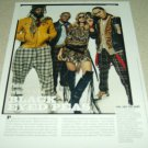 Black Eyed Peas 1 Page Article/Clipping
