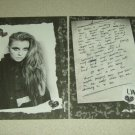 Lynn Gunn 2 Page Clipping - PVRIS