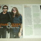 Stephan Jenkins & Derek Sanders 2 Page Article/Clipping Mayday Parade