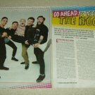 Neck Deep 4 Page Article/Clipping