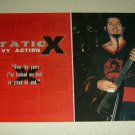 Static-X 2 Page Article/Clipping #2 - Pinup - Wayne Static
