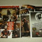Static-X 2 Page Article/Clipping #3 - Pinup - Wayne Static