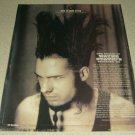 Wayne Static 1 Page Article/Clipping - Static-X